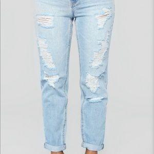 Fashion Nova- Up and away skinny jeans